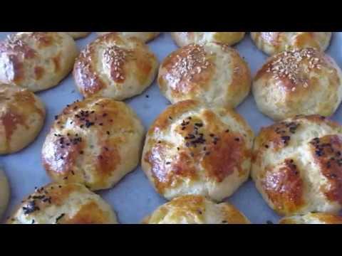 Турецкие булочки без дрожжей с начинкой. Bayatlamayan Mayasiz 3 2 1 Poğaca Tarifi