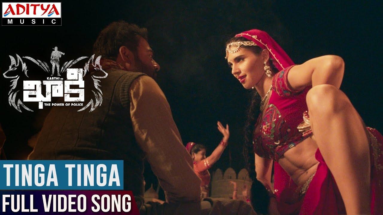 Download Tinga Tinga Full Video Song || Khakee Video Songs || Karthi, Rakul Preet || Ghibran