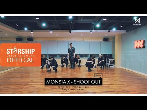 [Dance Practice] 몬스타엑스 (MONSTA X) - 'SHOOT OUT' Stage costume ver. (FIX ver.)