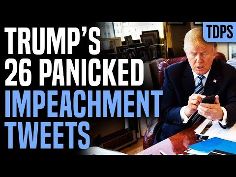 Trump BREAKS DOWN, Tweets 26 Times During Impeachment Hearing