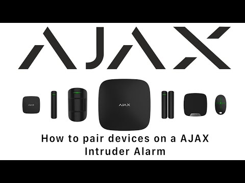 How to Pair AJAX Devices
