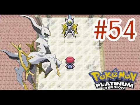 Pokemon Platinum - Battle Frontier #54 จับ อาร์เซอุส โปเกม่อนในตำนาน พาทหน้า จบแล้วจ้า