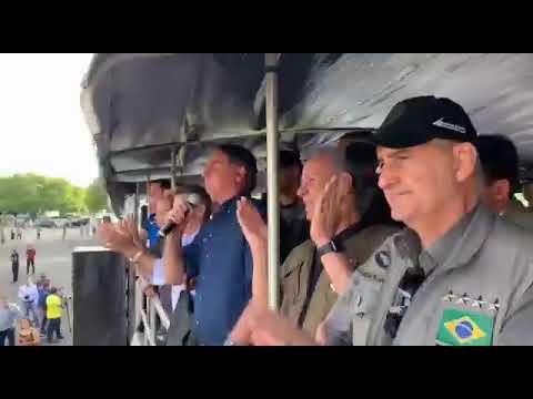 Presidente Jair Bolsonaro: 29Set21      Pedra fundamental da construção do Linhão Manaus Boa Vista