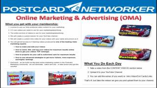 Postcard Networker  Products  Compensation  Quick Overview