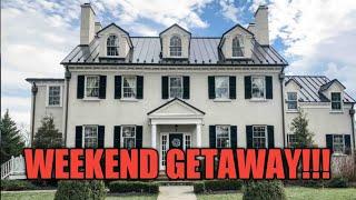 WEEKEND GETAWAY| Mortgage Hall Estate in Virginia!!!
