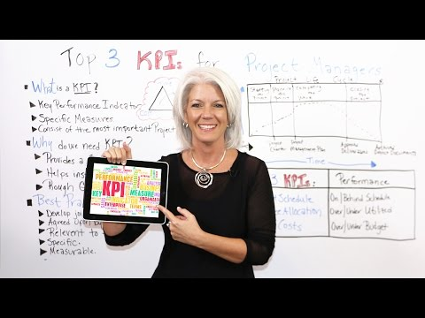 Top 3 KPIs For Project Managers