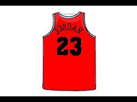 How to Draw a Jersey - YouTube