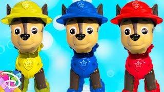 Щенячий патруль все серии подряд Гонщик против брата Мультики для детей Learn Colors with Paw Patrol