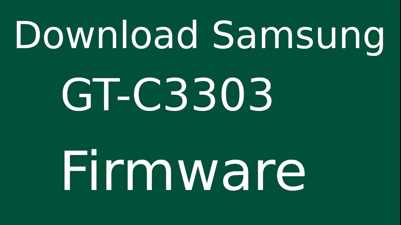 Where to download driver for samsung gt-c3222? – justin. My.