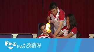 Opening Ceremony Movement 4. FIRE YOUR IMAGINATION | 8th ASEAN Para Games Singapore 2015