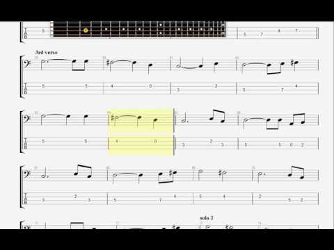 Clapton, Eric   Wonderful Tonight  BASS GUITAR TAB