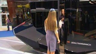 Трамваи будущего представили на выставке в Москве (новости) http://9kommentariev.ru/
