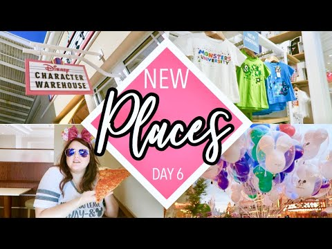 A Day of New Places! | Spring 2018 Disney Vlogs thumbnail