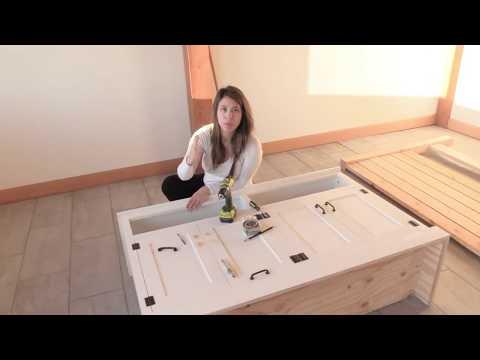 Entryway Cabinet Console Build
