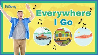 Everywhere I Go | Preschool Worship Video