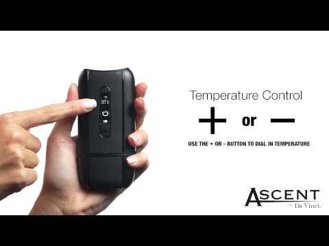 Quick Tips:How to Control Temperature of Your DaVinci Ascent Vaporizer