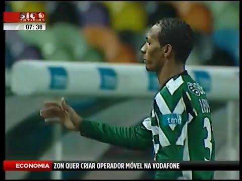 Sporting - 1 x E. Amadora - 0 de 2007/2008 1/4 Final da Taça de Portugal