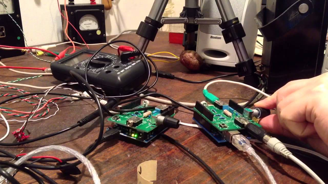 Arduino dsp shield and shifting ring modulation youtube