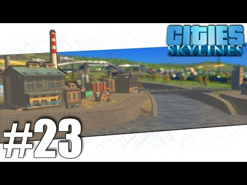 Cities Skylines - The Grand Poo Canal - Part #23