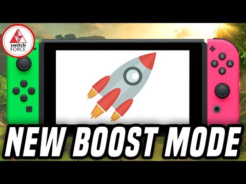 Switch Adds Boost Mode To Shrink Loading Times