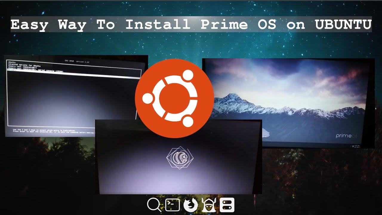 How to Install PrimeOs On Ubuntu?