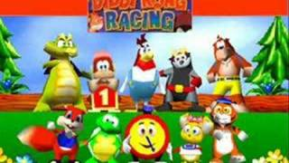 Diddy Kong Racing Music: Spaceport Alpha