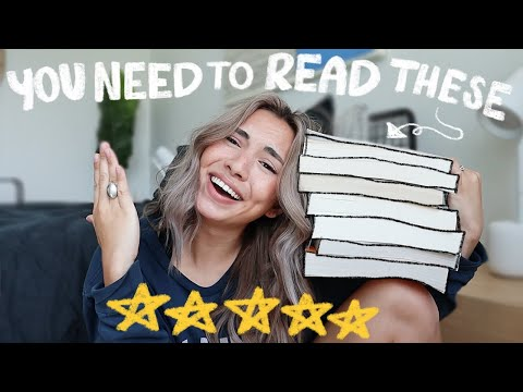 the only books i've given 5 stars (my favorite books)