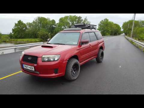 2008 Subaru Forestry XT Sports Lifted King Springs - YouTube
