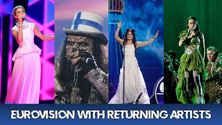 MAKING EUROVISION WITH RETURNING ARTISTS [52 COUNTRIES]