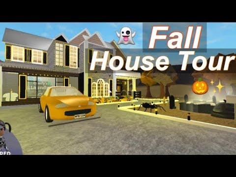 Roblox Bloxburg| Fall House Tour ♡