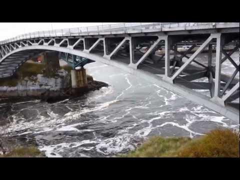 Reversing Falls (Rapides Réversibles) @ Saint John, New Brunswick, Canada.