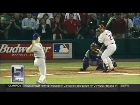 SportsCenter's Top 10 Home Runs Of All Time.