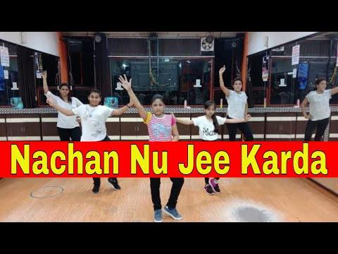 Nachan Nu Jee Karda Easy Dance Steps | Angrezi Medium | Choreography  Step2Step Dance Studio
