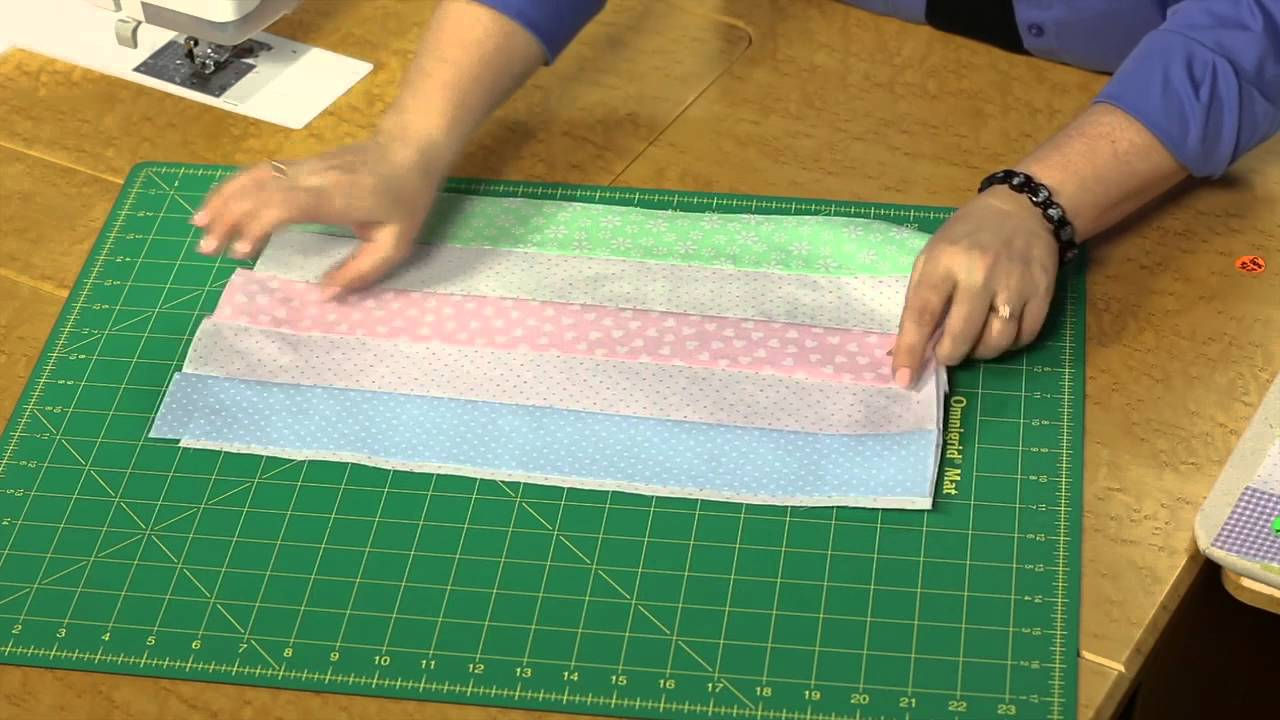 Quilting Quickly Baby Checks Baby Quilt Pattern Youtube