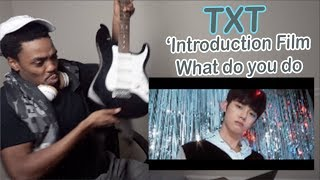 TXT (투모로우바이투게더) 'Introduction Film - What do you do-' - 연준 (YEONJUN) | REACTION