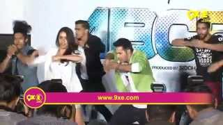 Varun and Shraddha burn up the dance floor with dance on Bezubaan from ABCD2|SpotboyE