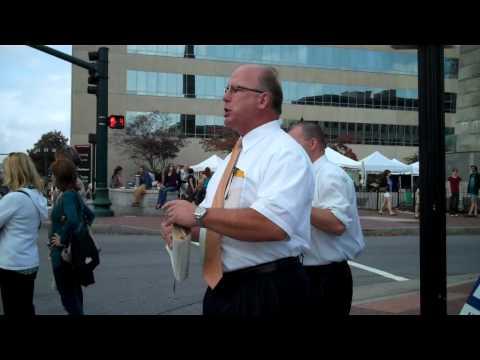 Preaching @ Gay Festival - Asheville, NC