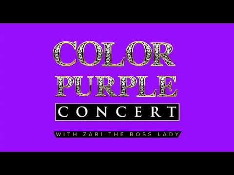 Colour purple concert