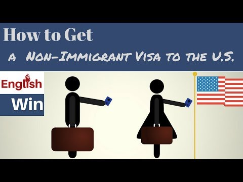 How To Get A Visitor Visa To The U.S.A.
