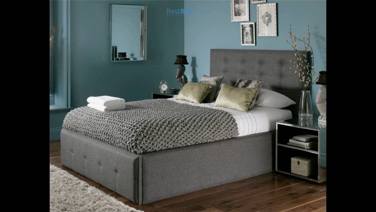 Mayfair Upholstered Ottoman Storage Bed - Mayfair Upholstered Ottoman Storage Bed - YouTube