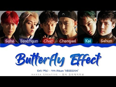[GIFT AT THE END VIDEO] EXO (엑소) - 'Butterfly Effect' Lyrics Color Coded (Han/Rom/Eng)