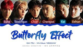 Download lagu [GIFT AT THE END VIDEO] EXO (엑소) - 'Butterfly Effect' Lyrics Color Coded (Han/Rom/Eng)
