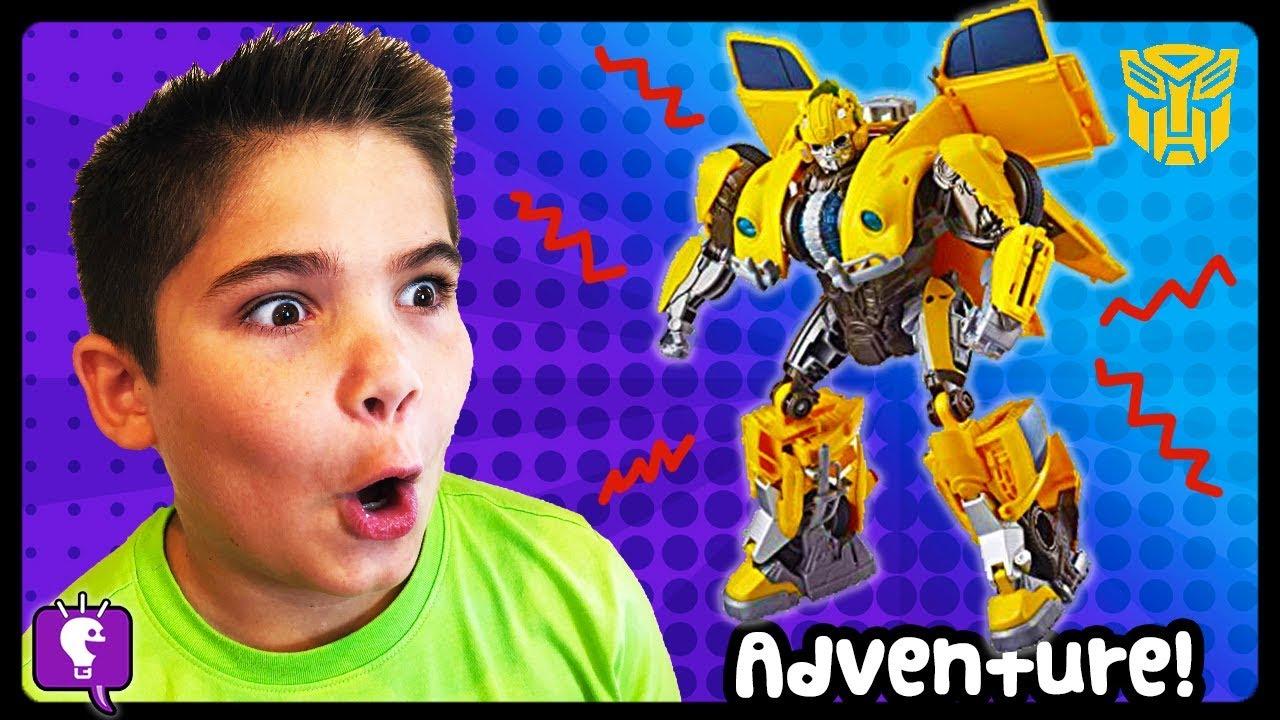 BUMBLE BEE ADVENTURE! Power Ranger Mega Zord Battle by HobbyKidsTV