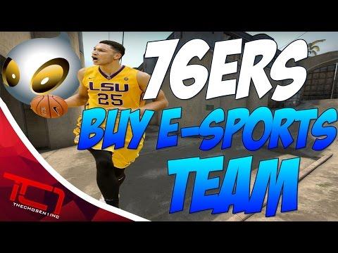Philadelphia 76ers Aquire E-Sports Team [CS:GO]