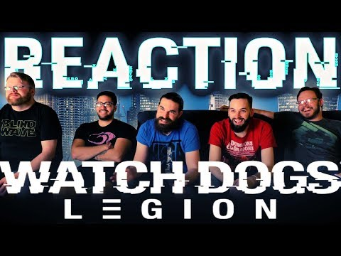Watch Dogs: Legion World Premiere Reveal Trailer REACTION!! #E32019