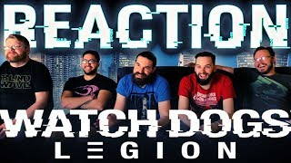Watch Dogs: Legion World Premiere Reveal Trailer REACTION!! #E32019