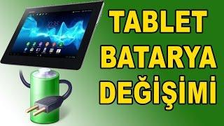 Tablet Bataryaları Nasıl Değiştirilir Tabletlerdeki  Pil sorunları
