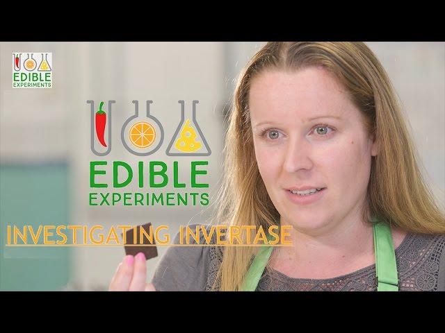 Edible Experiments - Investigating Invertase