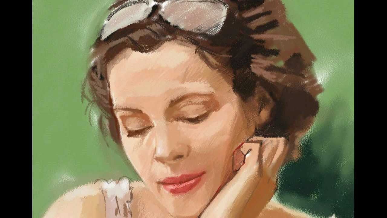 Clases de Pintura. Retrato. - YouTube