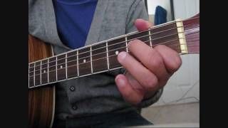 How To: Play After Tonight By Justin Nozuka On The Guitar